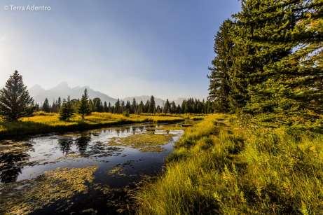 Sem palavras para descrever a beleza dos lagos, rios, florestas e montanhas do Grand Teton, uma das maiores surpresas que tivemos nos Estados Unidos