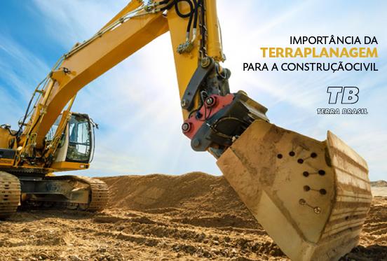 Importância da terraplanagem para a construção civil: saiba mais