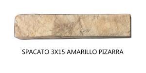 Spacato 3x15 Amarillo Pizarra Pieza unitaria