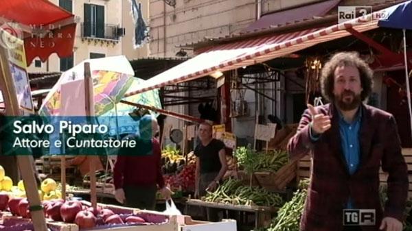Le visite narrate da Salvo Piparo a Palermo