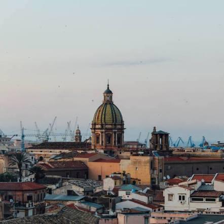 Palermo - torre di San Nicolò - foto di Maria Elena Björk Caltanissetta