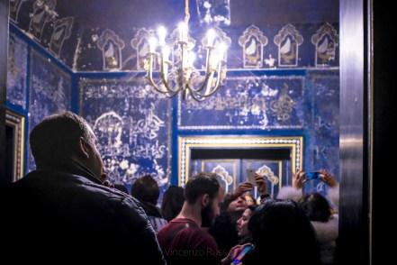 Camera delle meraviglie - Palermo - Notte blu