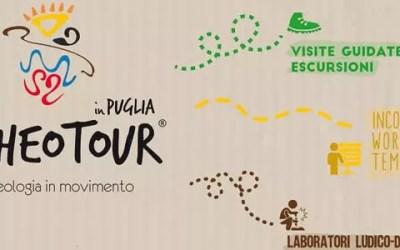 """Il GAL Terra d'Arneo partner di """"ARCHEOTOUR in Puglia, l'ecologia in movimento"""""""