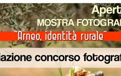 """Sabato 18 aprile premiazione del Concorso fotografico """"Arneo, identità rurale"""""""