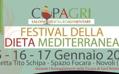 Il GAL Terra d'Arneo partecipa a CUPAGRI: Festival della Dieta Mediterranea 2015