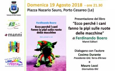 Al via Libri in festa tour 2018 a Porto Cesareo: dal 6 al 19 Agosto