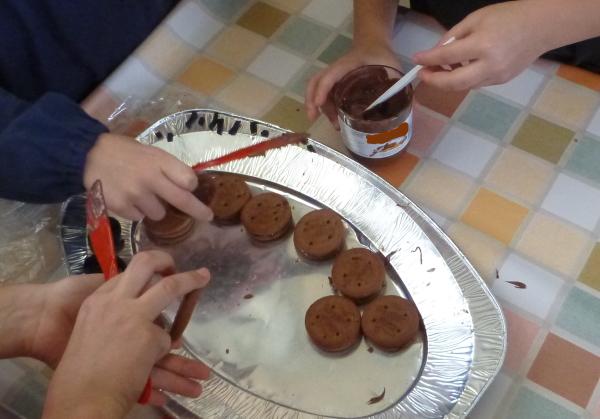 ricetta biscotti ragno halloween