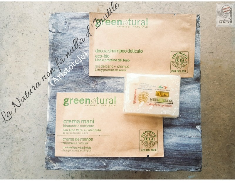 Linea Eco-bio Greenatural e NeemItalia