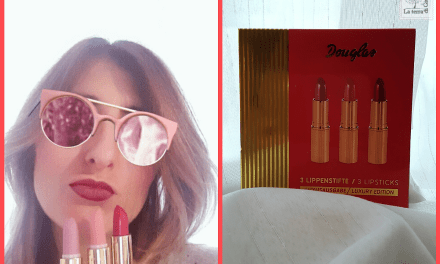 Cofanetto Douglas, Lipstick Kit- Luxury Edition