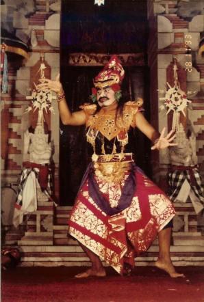 Mahabrata Epic, Performance at Ubud Palace, Ubud. Bali