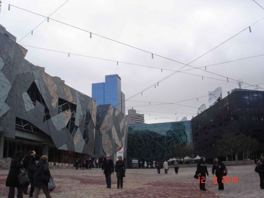 Federation-Square, Melbourne City Tour