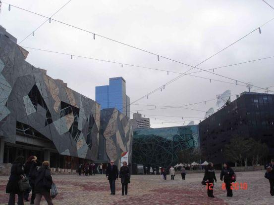 Federation-Square, Melbourne City Tour