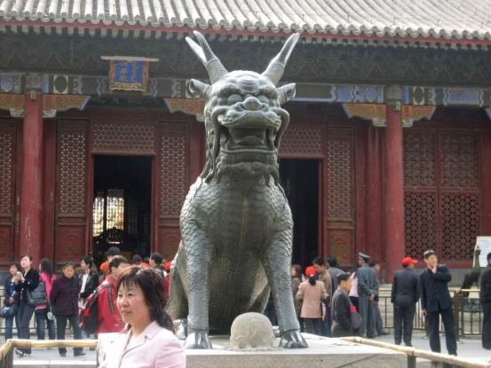 Hall of Benevolence and Longevity at the Summer-Palace