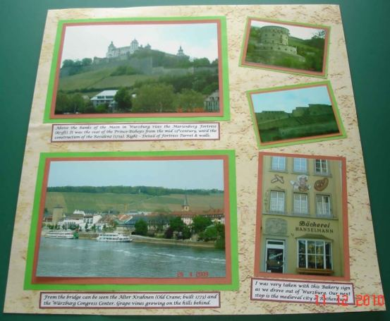 MarienbergFortress-Wurzburg.Scrapbooking Tips