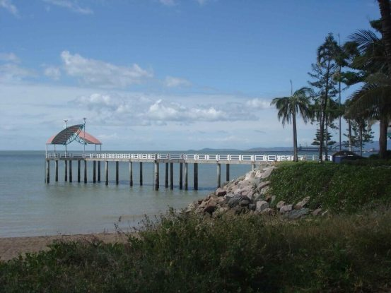 On The Strand the Fishing-Pier Townsville Tropical North Queensland