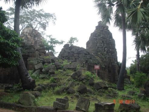Ta ProhmTemple ruins. Takeo