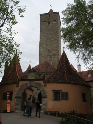 Burgtor Gate & customs-house