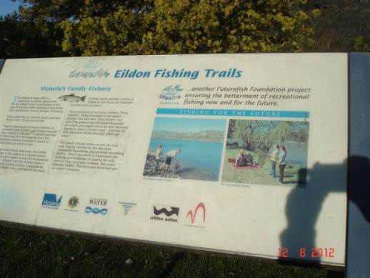 Fishing trails - Eildon Dam - fishing, water sports, boating, houseboats