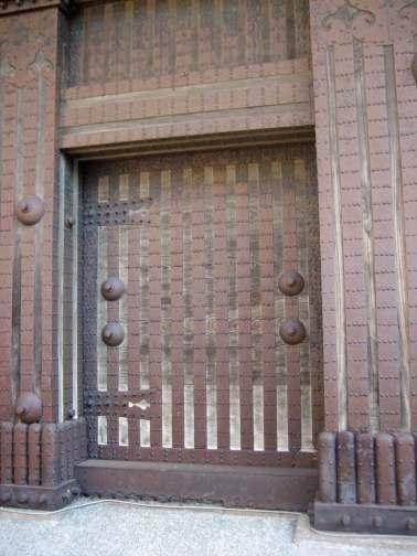 Kanazawa Castle Park - Impressive Iron Gates