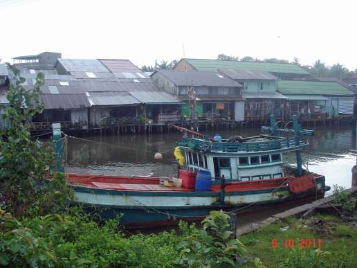 Fishing Villages on the river banks