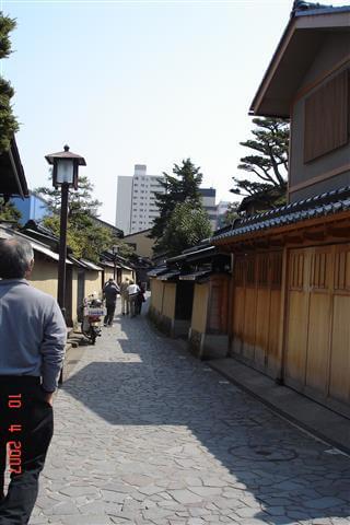Nagayamon gates (row house gates)-Nagamachi Samurai House District - Kanazawa