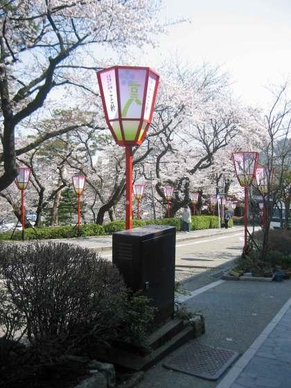 Colorful Street Lanterns Kanazawa