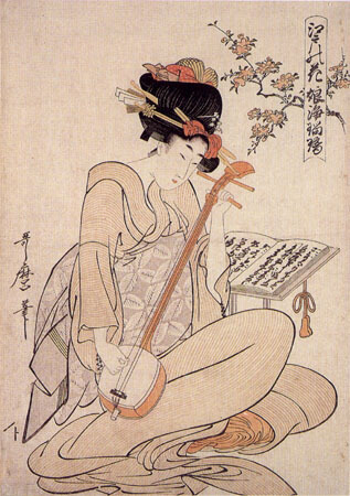 Geisha-KitagawaUtamaro_FlowersOfEdo