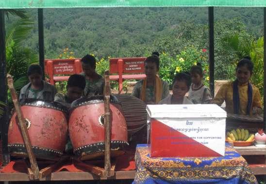 Traditional Music team-Pich Nil Mountain Pass