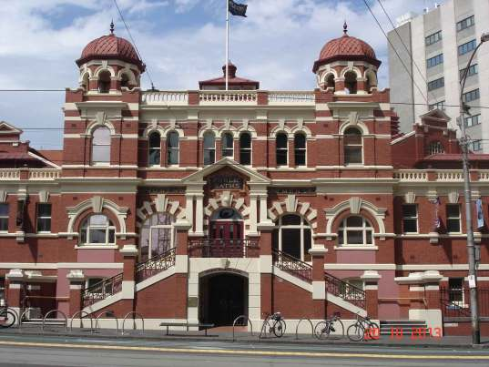 MelbournePublic  Baths1860-Swanston Street Melbourne city
