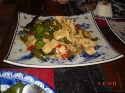 Restaurant Phnom Penh delicious Khmer food -Asian food with a difference