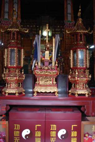 The Stage (Alter) City God temple-ancient Water Town-Zhujiajiao