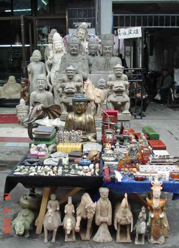 Fake Antique Market - Stalls - Shanghai