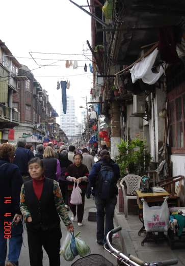 Streets of Old Town (Nanshi) -Old Chinese Quarter-Shanghai Old Town