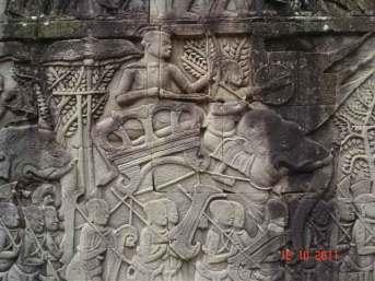 Bayon Khmer Kingdom and the Kingdom of  Champa