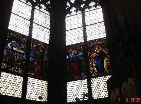 MedievalWindowchapel-Freiburg Minster