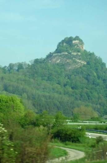 Ruins - Hohentwiel Fortress-Hegau-Singen-town-forest