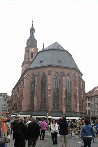 Gothic Church of the Holy Spirit- Old Town Heidelberg