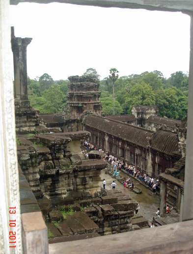 Steps in history - Siem Reap