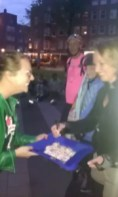 Trainee Sanne op skaters save the world