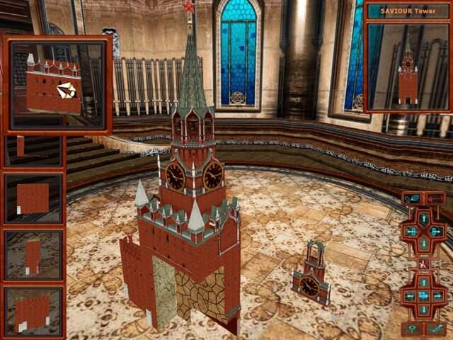 Full Kremlin Puzzle 3D Version For Windows