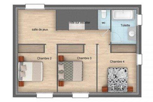Plan De Maison A 4 Chambres Selection De 8 Plans De Constructeurs