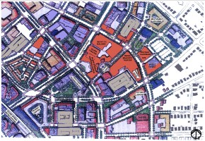 Downtown Silver Spring Map