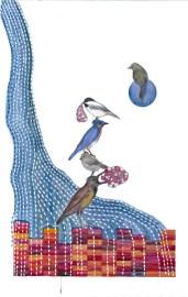 Birds with Sacks