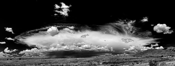 Sandia Mushroom Cloud, New Mexico, 2012