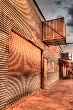 Tin Siding, Tucson, Arizona, 2012