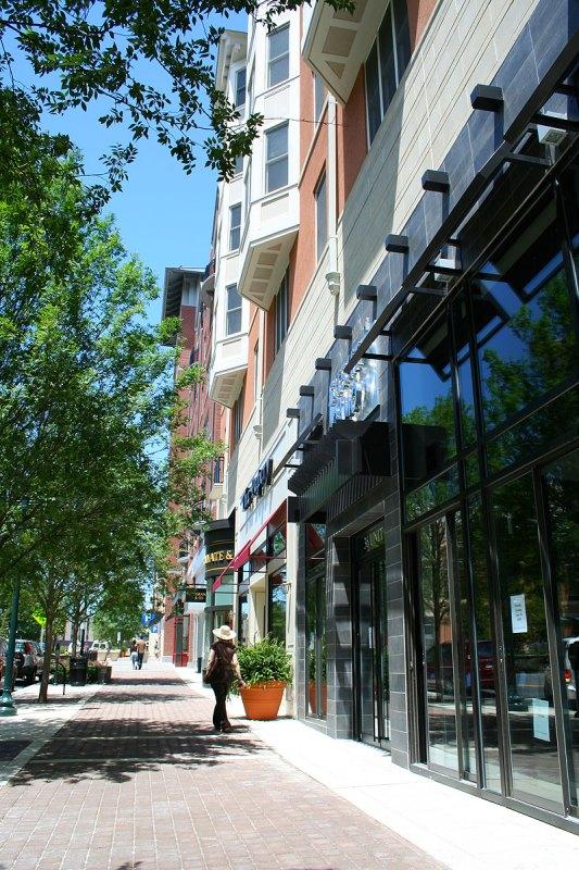 Street-level retail.