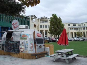 Airstream food truck at Seaside