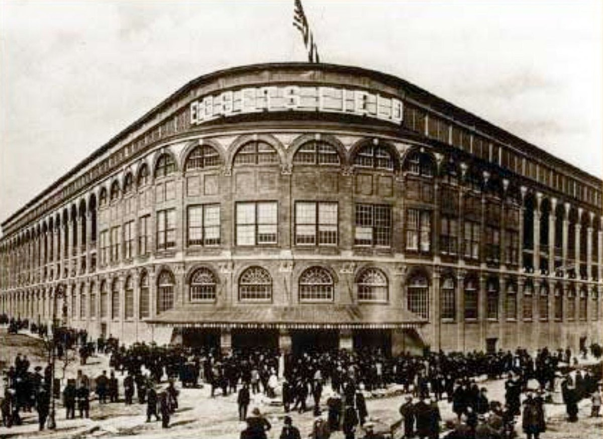 Ebbets Field in Brooklyn.