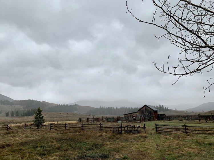 Ranch in high country Colorado