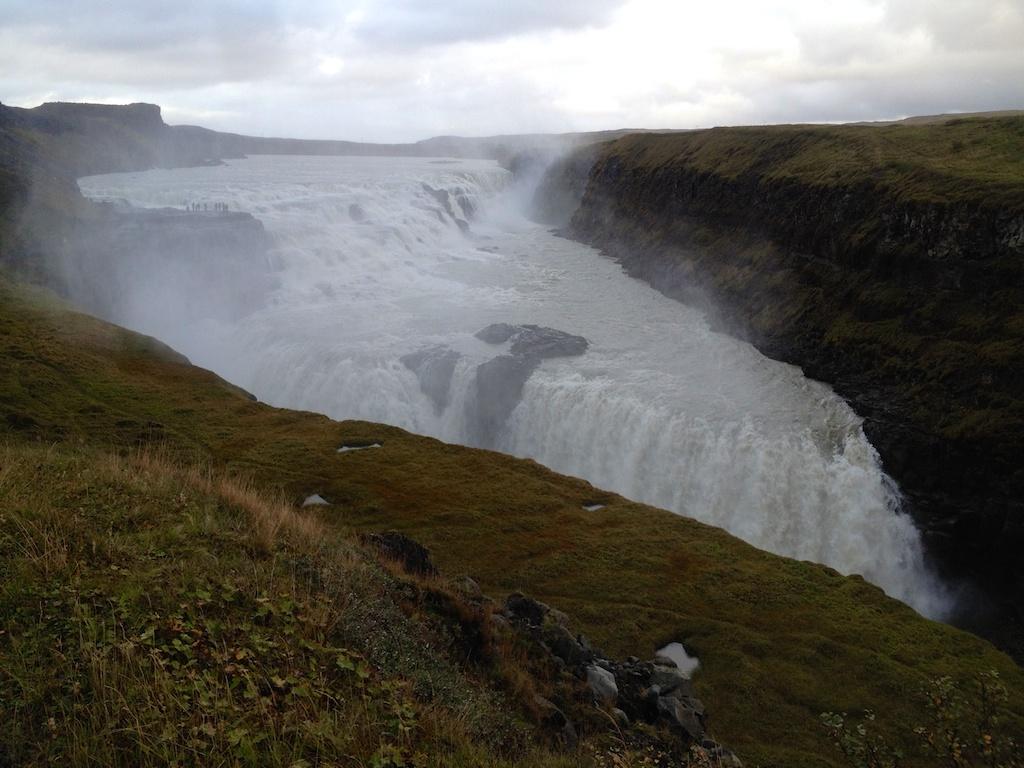 Gullfoss Waterfall, southern Iceland